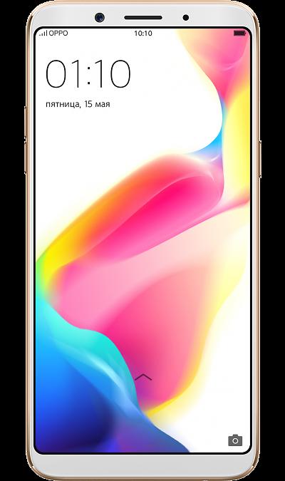 Смартфон OPPO F5 4/32GB Gold (золотистый)Смартфоны<br>2G, 3G, 4G, Wi-Fi; ОС Android; Камера 16 Mpix, AF; Разъем для карт памяти; MP3, FM,  GPS; Вес 152 г.<br><br>Colour: Золотистый