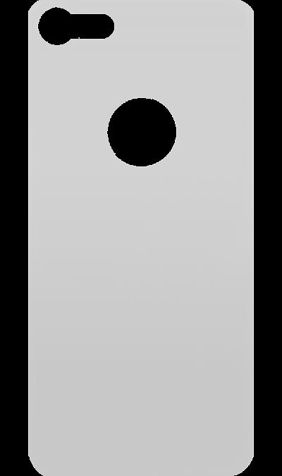 Защитное стекло на заднюю панель Inter-Step для Apple iPhone 8 (белое)Защитные стекла и пленки<br>Качественное защитное стекло прекрасно защищает корпус от царапин и других следов механического воздействия. Оно не содержит клеевого слоя и крепится на дисплей благодаря эффекту электростатического притяжения.<br>