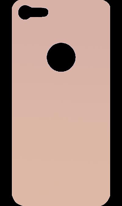 Защитное стекло на заднюю панель Inter-Step для Apple iPhone 8 (золотистое)Защитные стекла и пленки<br>Качественное защитное стекло прекрасно защищает корпус от царапин и других следов механического воздействия. Оно не содержит клеевого слоя и крепится на дисплей благодаря эффекту электростатического притяжения.<br>