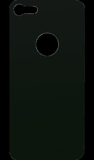 Защитное стекло на заднюю панель Inter-Step для Apple iPhone 8 (чёрное)Защитные стекла и пленки<br>Качественное защитное стекло прекрасно защищает корпус от царапин и других следов механического воздействия. Оно не содержит клеевого слоя и крепится на дисплей благодаря эффекту электростатического притяжения.<br>