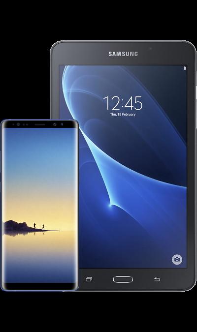 Samsung Смартфон Samsung Galaxy Note8 Blue + Планшет Galaxy Tab A 7.0 скобозабиватель kwb blue pt 8 053 308