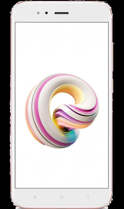 Xiaomi Mi A1 64GB Rose GoldСмартфоны<br>2G, 3G, 4G, Wi-Fi; ОС Android; Камера 12 Mpix, AF; Разъем для карт памяти; MP3,  BEIDOU / GPS / ГЛОНАСС; Вес 165 г.<br><br>Colour: Белый