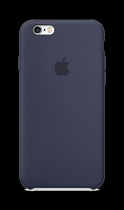 Apple Чехол-крышка Apple MKY22ZM для iPhone 6/6s, силикон, синий apple apple для apple iphone 6s задняя крышка силикон синий