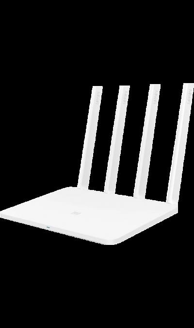 Роутер Xiaomi Mi 3 Wi-Fi  (белый)Роутеры 3G/4G<br>802.11a/b/g/n/ac; 2 порт LAN<br><br>Colour: Белый