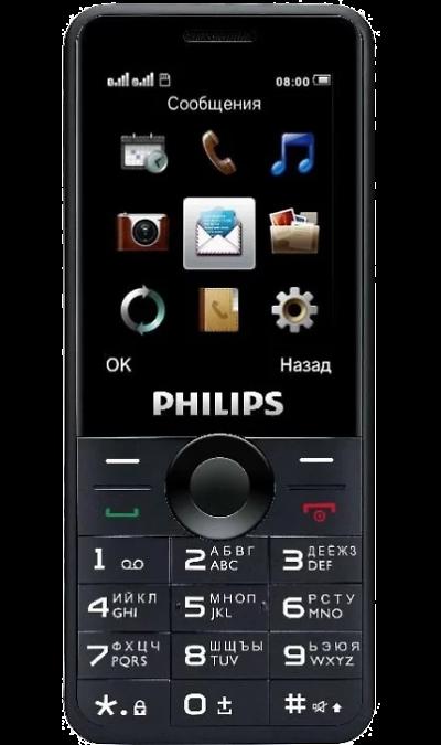 Philips Xenium E168Телефоны<br>2G; Дисплей 65,5 тыс цв. 2.4; Камера 0.3 Mpix; Разъем для карт памяти; MP3, FM; 18.0 ч.; Вес 100 г.<br><br>Colour: Черный