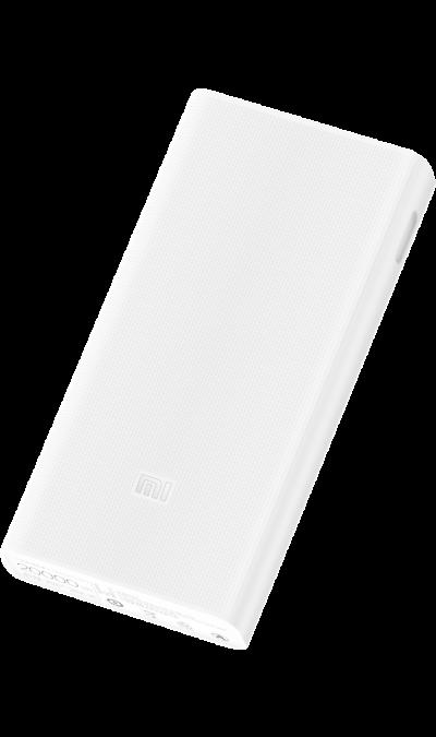 Аккумулятор Xiaomi, Li-Pol, 20000 мАч, белый (портативный)Аккумуляторы внешние<br>Резервный аккумулятор Хiaomi - устройство, предназначенное для зарядки портативных устройств без помощи электрической сети. Особенно актуален для путешественников и туристов в местах, где невозможен или ограничен доступ к электроэнергии. Резервный аккумулятор Hiper подходит для портативных устройств, таких как смартфоны, мобильные телефоны и МР3-плееры.<br>Для зарядки устройств Apple необходимо использовать кабель идущий в комплекте с телефоном.<br><br>Colour: Белый