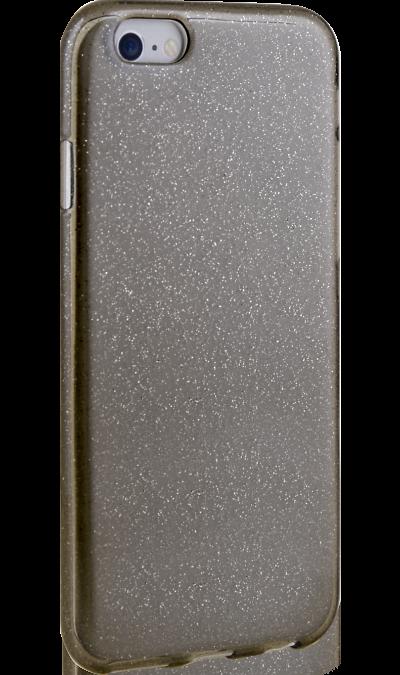 New Level Чехол-крышка New Level для Apple iPhone 6/6s, силикон, черный odoyo чехол аккумулятор odoyo для apple iphone 6 6s 3000mah пластик черный