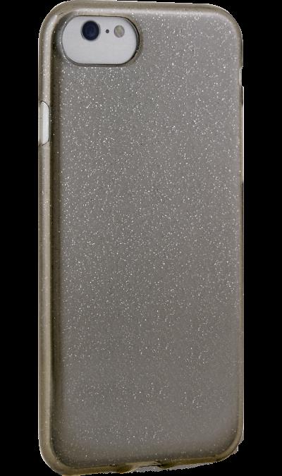 Чехол-крышка New Level для Apple iPhone 7/8, силикон, черныйЧехлы и сумочки<br>Чехол поможет не только защитить ваш iPhone 7/8 от повреждений, но и сделает обращение с ним более удобным, а сам аппарат будет выглядеть еще более оригинальным.<br>