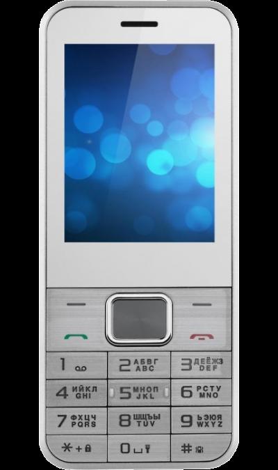 Jinga PB100 SilverТелефоны<br>2G; Дисплей 2.4; Камера 0.08 Mpix; MP3, FM<br><br>Colour: Серебристый
