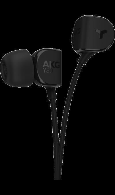AKG Y 20 Black, (черный)Наушники и гарнитуры<br>Ультракомфортные вставные наушники.<br>Удобные внутриканальные наушники, обеспечивающие фирменное звучание AKG. Хорошо известная ка производитель наушников для студийных специалистов, компания AKG разработала внутриканальные стереонаушники для тех, кто узнает звучание качества, когда они его слышат и чувствуют, - вне зависимости от прошедшего количества часов прослушивания. AKG Y20 - это не только мощные 8-мм динамики, обеспечивающие высококачественное звучание, но и наклонные вкладыши и ...<br><br>Colour: Черный