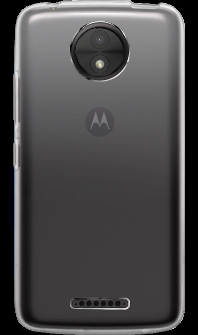 RedLine Чехол-крышка RedLine для Motorola Moto C, силикон, прозрачный