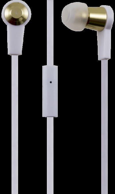Проводная гарнитура Bron HDS2, стерео (белая)