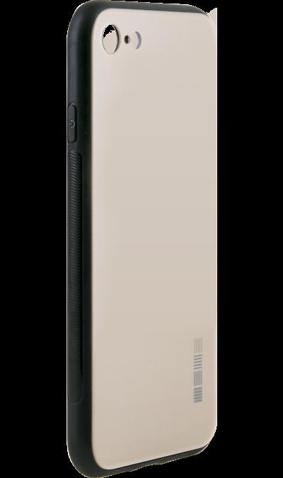 Чехол-крышка Inter-Step для Apple iPhone 7/8, пластик, золотистыйЧехлы и сумочки<br>Чехол поможет не только защитить ваш iPhone 7/8 от повреждений, но и сделает обращение с ним более удобным, а сам аппарат будет выглядеть еще более оригинальным.<br><br>Colour: Золотистый