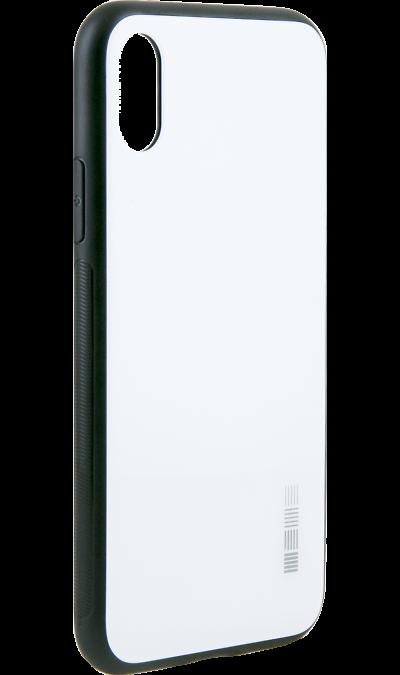 Чехол-крышка Inter-Step для Apple iPhone X, пластик, белыйЧехлы и сумочки<br>Чехол поможет не только защитить ваш iPhone X от повреждений, но и сделает обращение с ним более удобным, а сам аппарат будет выглядеть еще более оригинальным.<br><br>Colour: Белый
