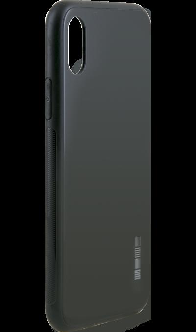 Чехол-крышка Inter-Step для Apple iPhone X, пластик, черныйЧехлы и сумочки<br>Чехол поможет не только защитить ваш iPhone X от повреждений, но и сделает обращение с ним более удобным, а сам аппарат будет выглядеть еще более оригинальным.<br><br>Colour: Черный