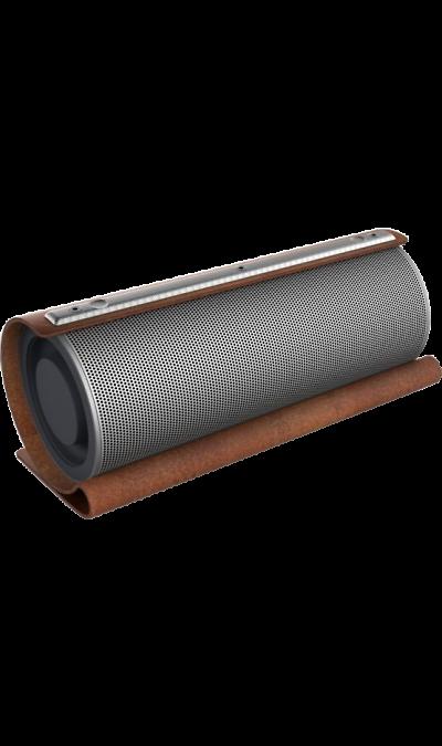 Колонка GZ electronics LoftSound GZ-22 Brown (Коричневая)Портативная акустика<br>Беспроводная акустическая система LoftSound GZ-22 обладает динамиками суммарной мощностью 20 Вт. Колонка подключается по Bluetooth или NFC к любому цифровому устройству и выдает отличный звук на частоте от 60 Гц до 18 000 Гц. Функция 3D Stereo Sound обеспечивает эффект объемного звука. LED-индикация показывает уровень заряда и режим работы колонки. В динамик встроен аккумулятор 2200 мАч, который позволяет работать в активном режиме до 10 часов и сократить время зарядки до 5 часов. С помощью ...<br><br>Colour: Коричневый