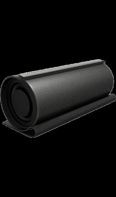 Колонка GZ electronics LoftSound GZ-22 Black (Черная)Портативная акустика<br>Беспроводная акустическая система LoftSound GZ-22 обладает динамиками суммарной мощностью 20 Вт. Колонка подключается по Bluetooth или NFC к любому цифровому устройству и выдает отличный звук на частоте от 60 Гц до 18 000 Гц. Функция 3D Stereo Sound обеспечивает эффект объемного звука. LED-индикация показывает уровень заряда и режим работы колонки. В динамик встроен аккумулятор 2200 мАч, который позволяет работать в активном режиме до 10 часов и сократить время зарядки до 5 часов. С помощью ...<br><br>Colour: Черный