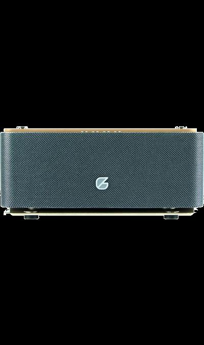 Колонка GZ electronics LoftSound GZ-44Портативная акустика<br>Беспроводная акустическая система LoftSound GZ-44 обладает динамиками суммарной мощностью 6 Вт. Колонка подключается через Bluetooth к любому цифровому устройству и выдает отличный стерео-звук на частоте от 60 Гц до 19 000 Гц. LED-индикация показывает уровень заряда и режим работы колонки. В динамик встроен аккумулятор 1800 мАч, который позволяет работать в активном режиме до 10 часов и сократить время зарядки до 5 часов. С помощью встроенного спикерфона вы можете общаться по громкой связи при ...<br><br>Colour: Золотистый