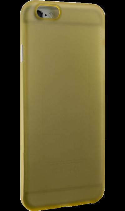 Deppa Чехол-крышка Deppa Sky Case для iPhone 6/6s, пластик, золотистый аксессуар чехол deppa art case союзмультфильм кеша для iphone 6 защитная пленка 100575
