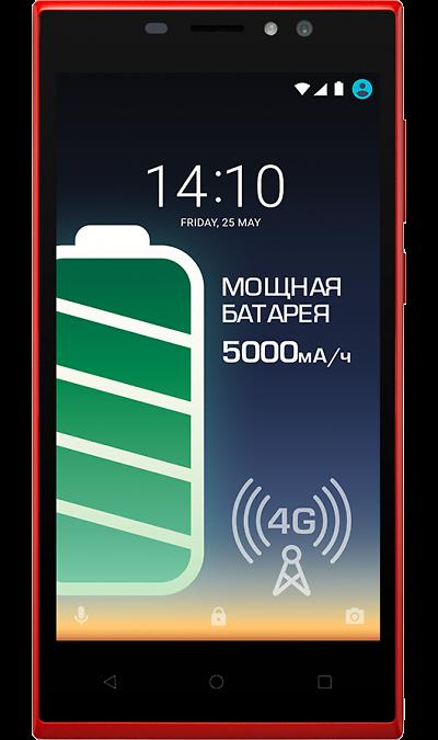 Prestigio Muze C7 LTEСмартфоны<br>2G, 3G, 4G, Wi-Fi; ОС Android; Дисплей сенсорный емкостный 16,7 млн цв. 5; Камера 13 Mpix; Разъем для карт памяти; GPS; Вес 200 г.<br><br>Colour: Красный