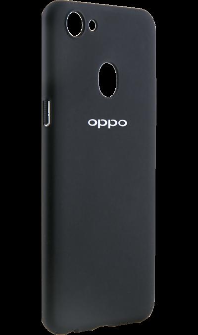 Чехол-крышка OPPO для OPPO F5/5Y, поликарбонат, черныйЧехлы и сумочки<br>Чехол поможет не только защитить ваш смартфон от повреждений, но и сделает обращение с ним более удобным, а сам аппарат будет выглядеть еще более элегантным.<br><br>Colour: Черный