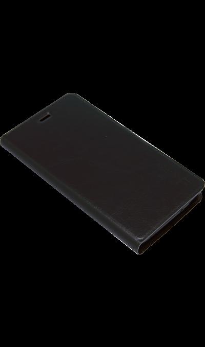 Micromax Чехол-книжка Micromax для Q4202, кожзам, черный skinbox flip case skinbox alcatel 5036d pop c5