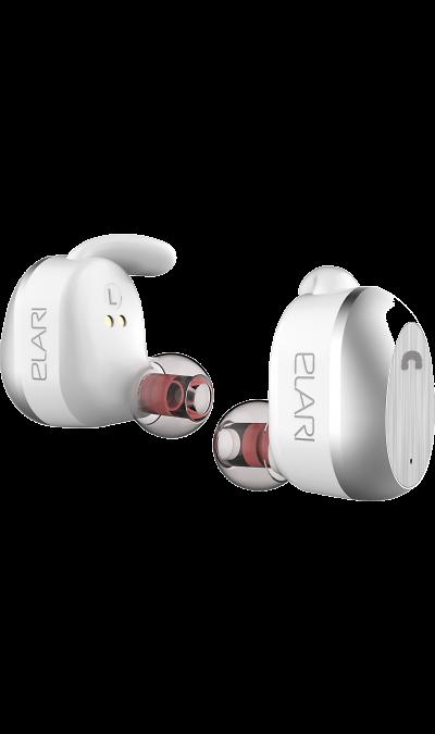 Гарнитура Elari NanoPodsНаушники и гарнитуры<br>Новый уровень комфорта для любителей хорошего звука. Соединившись один раз по Bluetooth, NanoPods будут автоматически повторно подключаться к смартфону/плееру. Они практически не ощущаются и при этом крепко держатся в ушах, используя в конструкции анатомию ушной раковины. Слушайте музыку до 3,5 часов или общайтесь через телефон/мессенджер до 4,5 часов без подзарядки, управляя треками и вызовами одной кнопкой. Элегантный магнитный кейс-аккумулятор надежно сохранит и быстро подзарядит ваши Elari ...<br><br>Colour: Белый