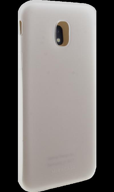 Чехол-крышка Miracase MP-8027M для Samsung Galaxy J3 (2017), полиуретан, белыйЧехлы и сумочки<br>Чехол Miracase поможет не только защитить ваш смартфон от повреждений, но и сделает обращение с ним более удобным, а сам аппарат будет выглядеть еще более элегантным.<br><br>Colour: Белый
