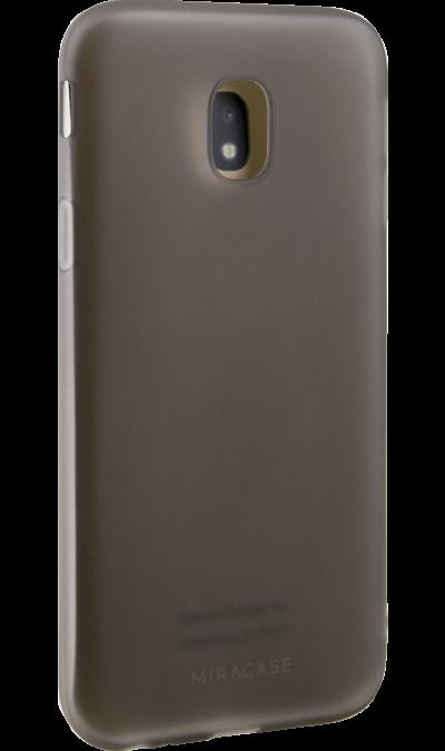 Miracase Чехол-крышка Miracase MP-8027M для Samsung Galaxy J3 (2017), полиуретан, черный