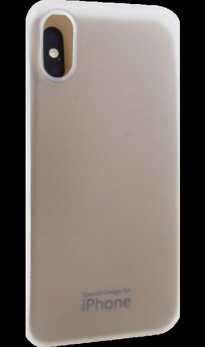 Чехол-крышка Miracase MP-8802 для iPhone X, полиуретан, прозрачный
