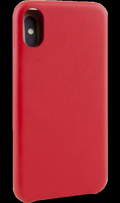 Чехол-крышка Miracase MP-8804 для iPhone X, полиуретан, красный фото