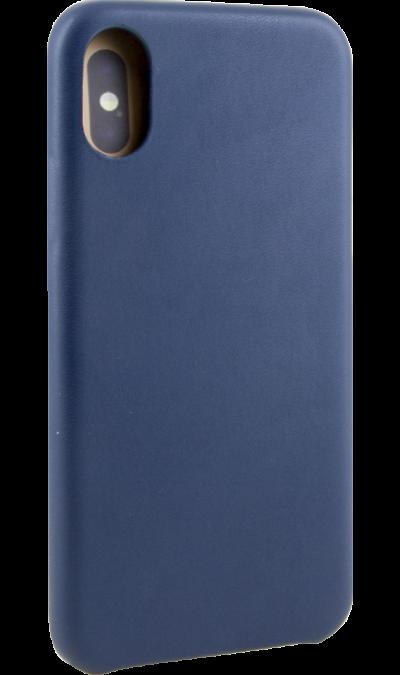 Miracase Чехол-крышка Miracase MP-8804 для iPhone X, полиуретан, синий miracase чехол крышка miracase mp 8037 для iphone 6 6s полиуретан серый