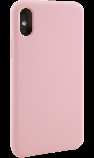 Чехол-крышка Miracase MP-8812 для iPhone X, полиуретан, розовый фото