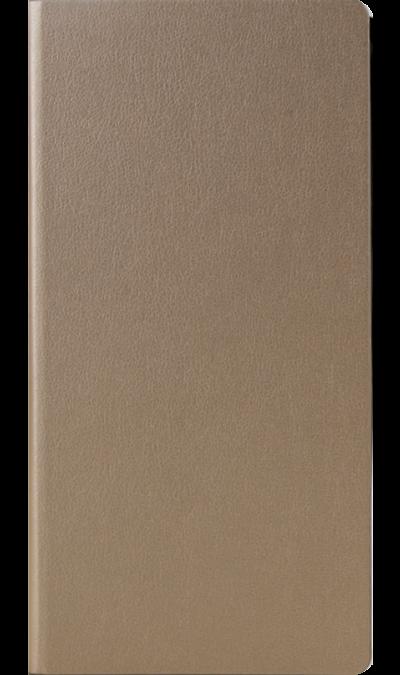 Miracase Чехол-книжка Miracase для Samsung Galaxy J3 (2017), кожзам, золотистый
