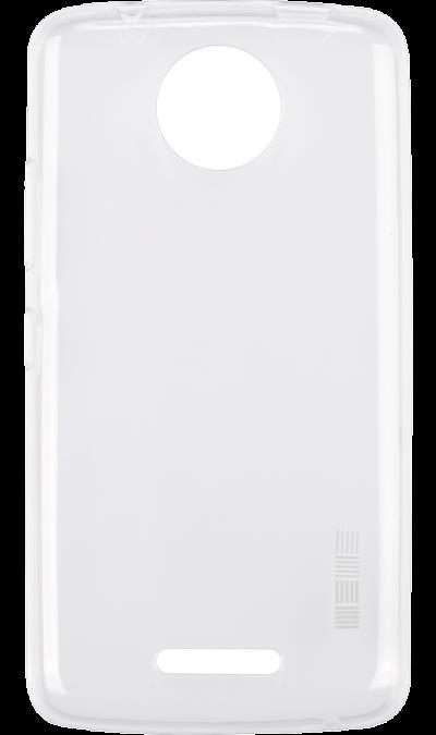 Чехол-крышка IS Slender для Motorola Moto C, силикон, прозрачный