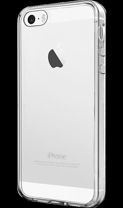 Чехол-крышка Lemon Tree для Apple iPhone 5/5S, силикон, прозрачныйЧехлы и сумочки<br>Чехол поможет не только защитить ваш iPhone 5/5S от повреждений, но и сделает обращение с ним более удобным, а сам аппарат будет выглядеть еще более оригинальным.<br>