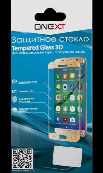 Защитное стекло One-XT для Galaxy S7 3DЗащитные стекла и пленки<br>Качественное защитное стекло прекрасно защищает дисплей от царапин и других следов механического воздействия. Оно не содержит клеевого слоя и крепится на дисплей благодаря эффекту электростатического притяжения.<br>