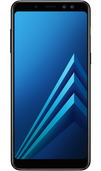Samsung Смартфон Samsung Galaxy A8 (2018) 32GB Black (черный) смартфон samsung galaxy a5 2017 32gb black