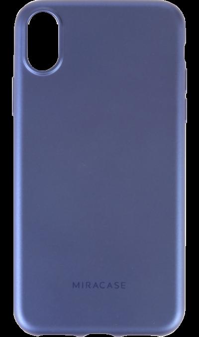 Чехол-крышка Miracase MP-8019 для iPhone X, полиуретан, синийЧехлы и сумочки<br>Чехол поможет не только защитить ваш iPhone X от повреждений, но и сделает обращение с ним более удобным, а сам аппарат будет выглядеть еще более элегантным.<br><br>Colour: Синий