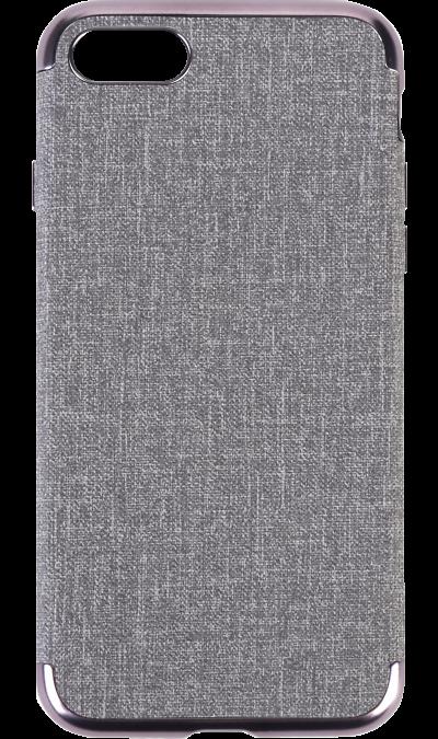 Miracase Чехол-крышка Miracase MP-8037 для Apple iPhone 7/8, полиуретан, серый