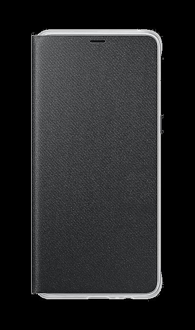 Samsung Чехол-книжка Samsung для Galaxy A8+, поликарбонат, черный чехол для samsung galaxy core gt i8262