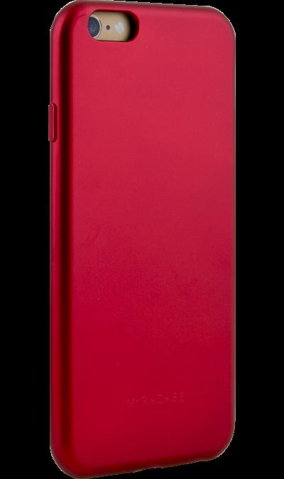 Чехол-крышка Miracase MP-8019 для iPhone 6/6s, полиуретан, красныйЧехлы и сумочки<br>Чехол поможет не только защитить ваш iPhone 6/6s от повреждений, но и сделает обращение с ним более удобным, а сам аппарат будет выглядеть еще более элегантным.<br><br>Colour: Красный
