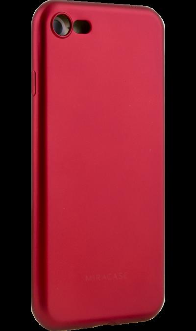 Чехол-крышка Miracase MP-8019 для Apple iPhone 7/8, полиуретан, красныйЧехлы и сумочки<br>Чехол Miracase поможет не только защитить ваш смартфон от повреждений, но и сделает обращение с ним более удобным, а сам аппарат будет выглядеть еще более элегантным.<br><br>Colour: Красный