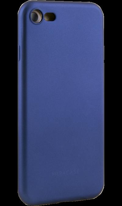 Miracase Чехол-крышка Miracase MP-8019 для Apple iPhone 7/8, полиуретан, синий