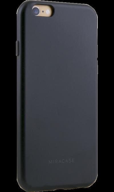 Чехол-крышка Miracase MP-8019 для iPhone 6/6s, полиуретан, черныйЧехлы и сумочки<br>Чехол поможет не только защитить ваш iPhone 6/6s от повреждений, но и сделает обращение с ним более удобным, а сам аппарат будет выглядеть еще более элегантным.<br><br>Colour: Черный