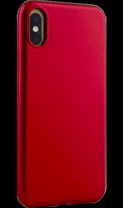 Miracase Чехол-крышка Miracase MP-8019  для iPhone X, полиуретан, красный чехол для iphone interstep для iphone x soft t metal adv красный