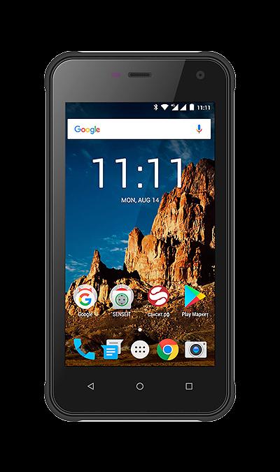 Смартфон SENSEIT R500Смартфоны<br>2G, 3G, 4G, Wi-Fi; ОС Android; Дисплей сенсорный емкостный 16,7 млн цв. 4.7; Камера 8 Mpix; Разъем для карт памяти; MP3, FM,  GPS; Время работы 214 ч. / 15.0 ч.; Вес 185 г.<br><br>Colour: Черный