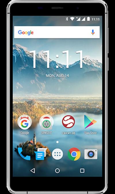 Senseit Смартфон SENSEIT T300 смартфон senseit t250 black