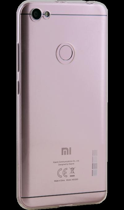 Inter-Step Чехол-крышка Inter-Step IS SLENDER для Xiaomi Note 5A Prime, силикон, прозрачный чехол для сотового телефона interstep slender adv для xiaomi redmi note 5a 16gb transp