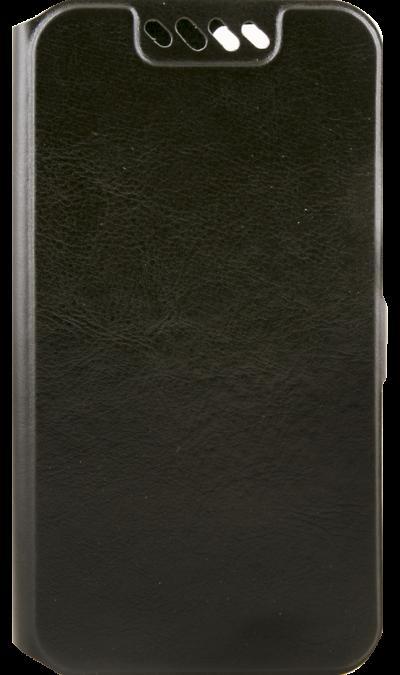 Чехол-книжка Senseit для Senseit T100, кожзам, черный